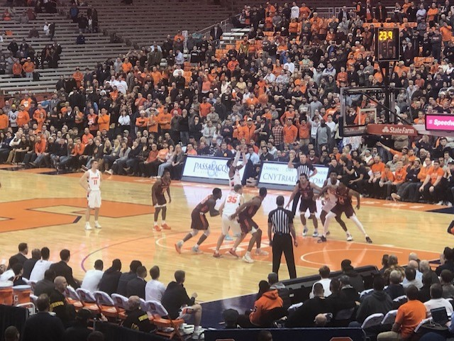 A Crushing defeat for the Orange against Hokies
