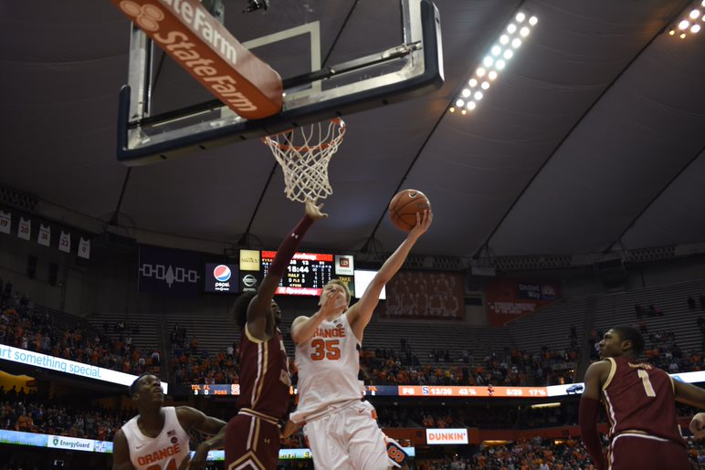 Syracuse Takes Down Boston College to Move to .500 In ACC Play