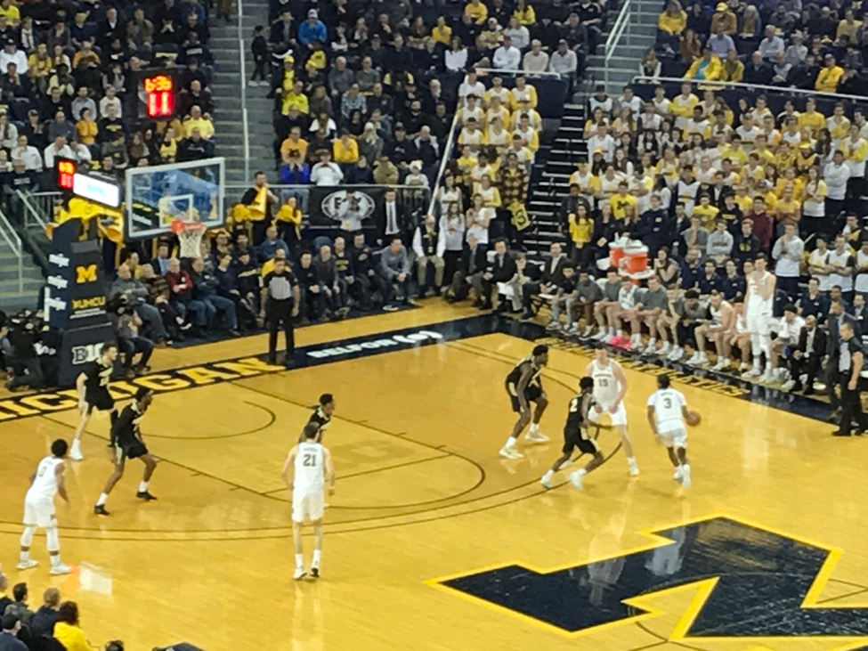 Michigan fends off Purdue in 2OT