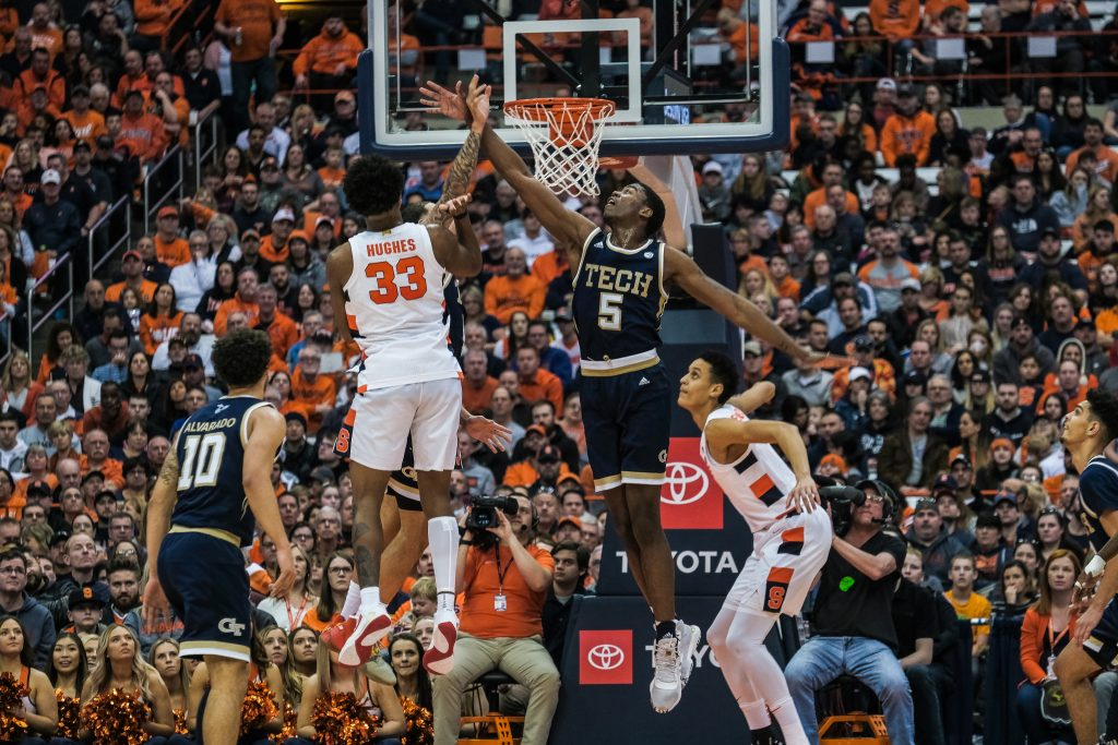 Second-half spark leads Syracuse past GA Tech to snap three-game losing skid